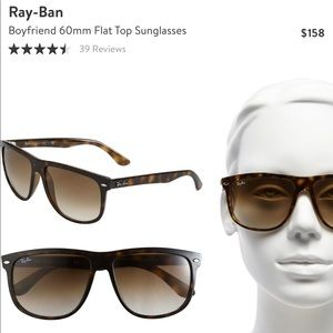 "Ray-Ban ""Boyfriend"" Tortoise Shell Sunglasses"